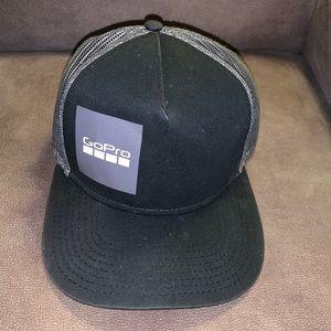 Go Pro Black and Grey Baseball Cap Hat